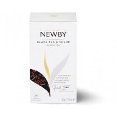 Черный чай с чабрецом / Black Tea and Thyme